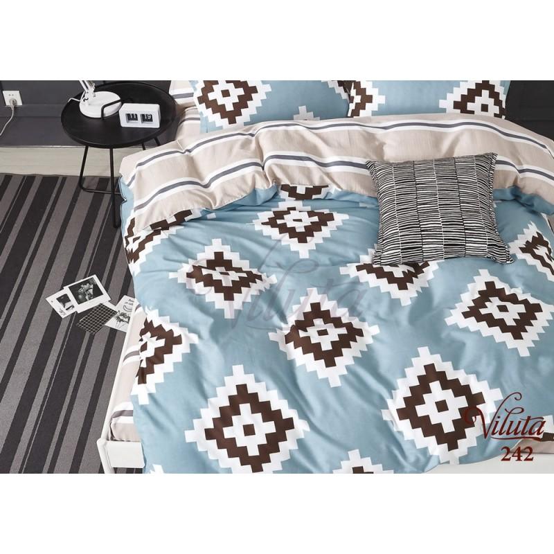 Купити Постільна білизна Viluta 242 Сатин твіл за вигідною ціною c20916c65a941